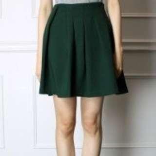 Dresscode 森林綠圓裙