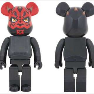 (RESERVED) 1000% Bearbrick Star Wars Darth Maul