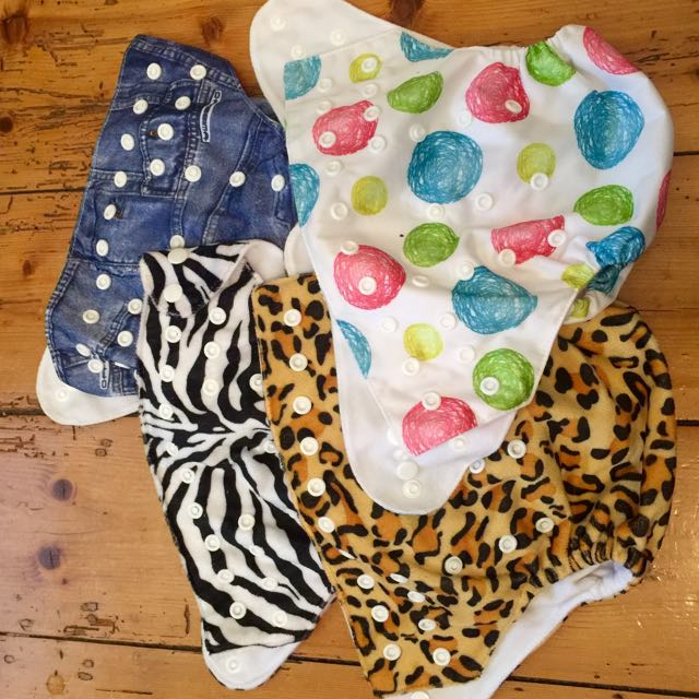 4 Modern Cloth Nappies