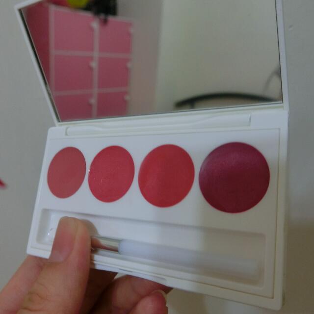 蘭芝雪紡炫彩4色唇膏盤