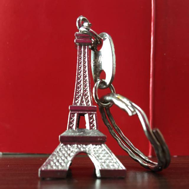 法國巴黎鐵塔鑰匙圈(法國帶回)
