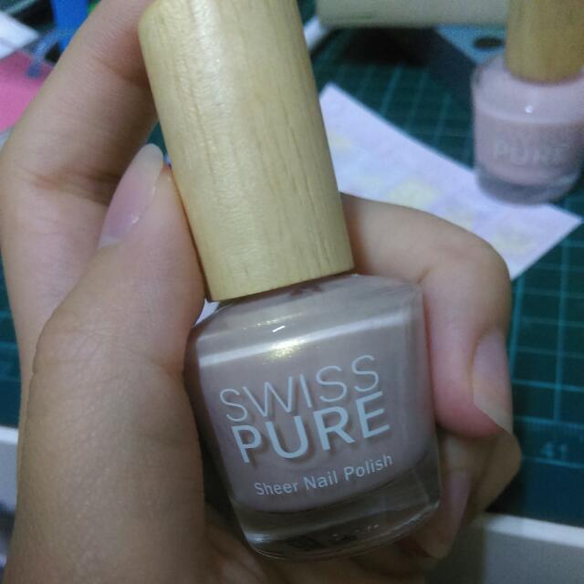 金蔥膚 指甲油