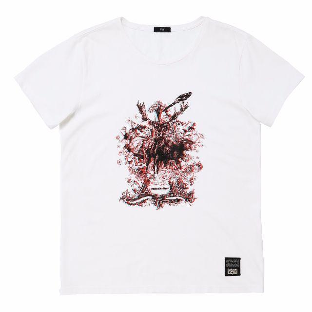 鬼塚虎 Onitsuka Tiger_3D鹿短T(附3D眼鏡)_2折