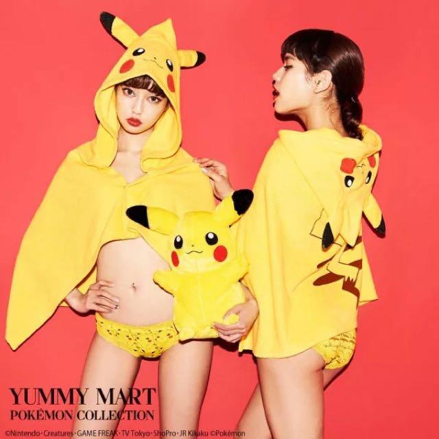 日本 P*EACH JOHN 皮卡丘 蜜桃派 YUMMY MART 家居服 睡衣 套裝 雜誌款 Vivi 四件變裝