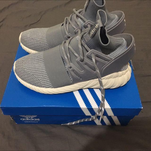 Adidas Tubular Doom 灰色