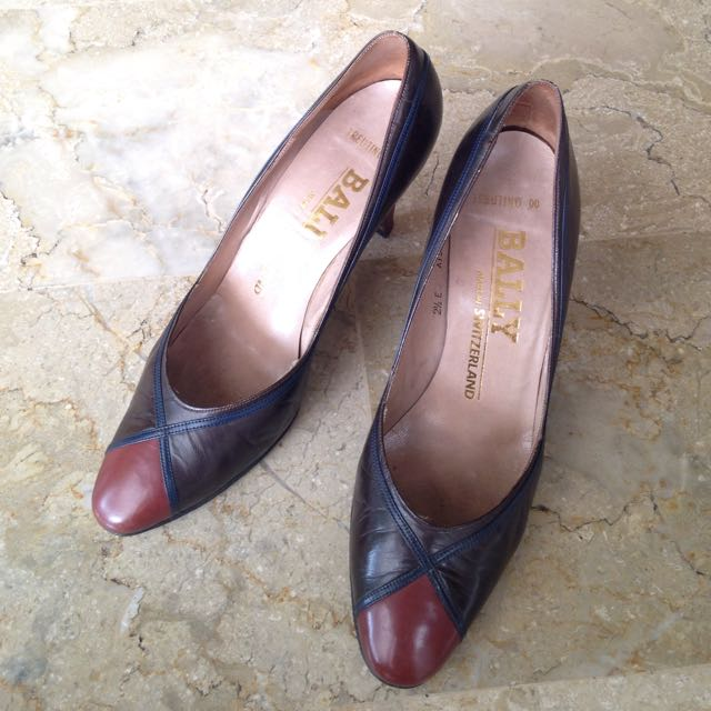 Bally Heels/Bally Shoes/Sepatu High Heels - Preloved
