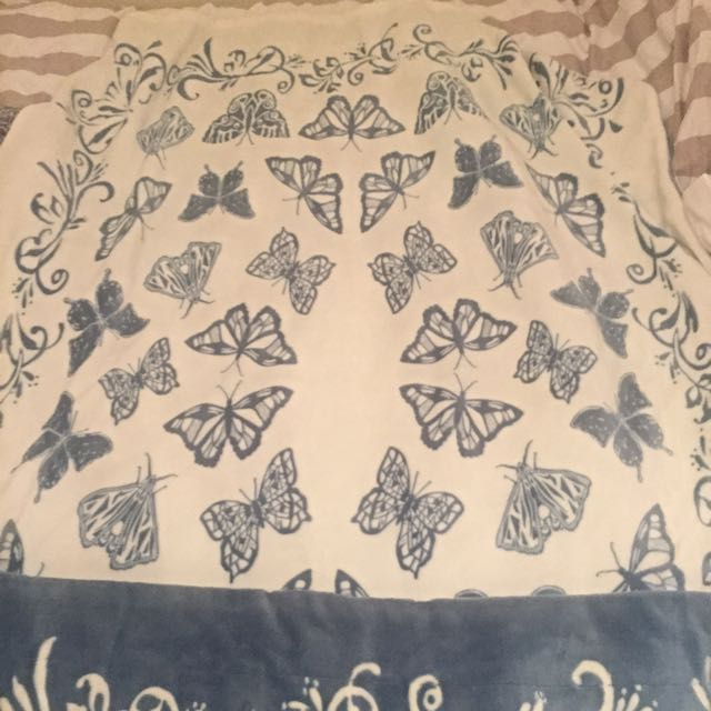 Super Soft Butterfly Blanket Marks And Spencer