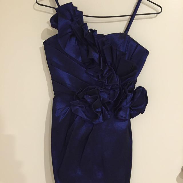 Belle Bleu Dress Size 8