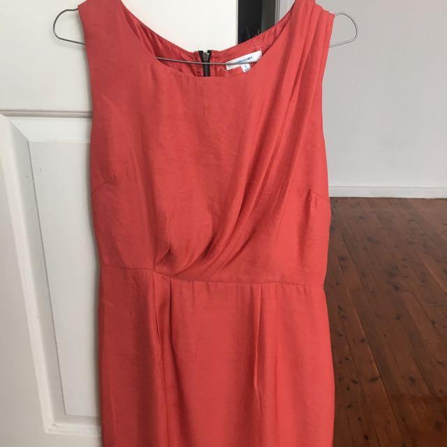 Blood Orange Twist Dress