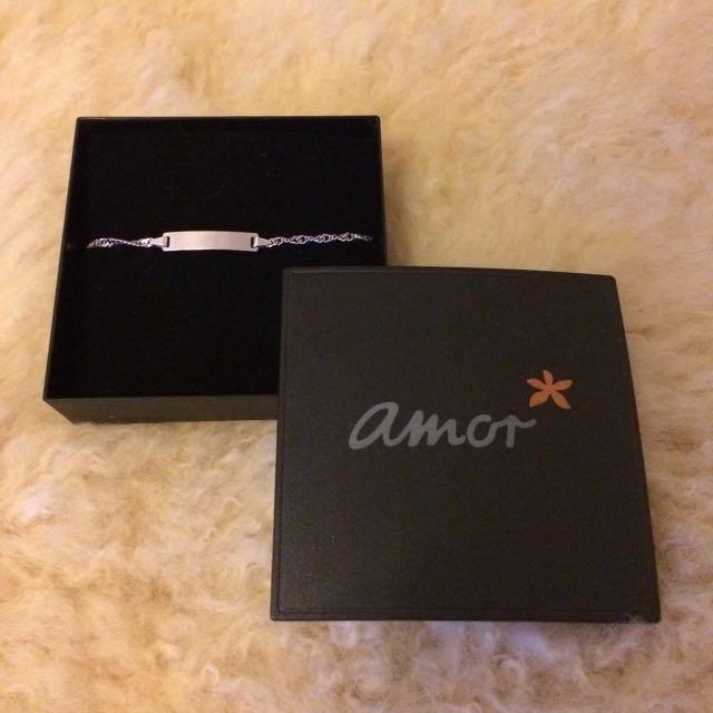 Brand New Amor 925 Silver Bracelet