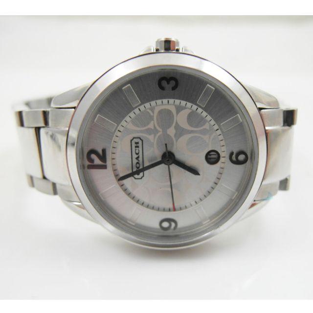 COACH 石英錶 中性款 日期顯示 9.5成新 品相漂亮
