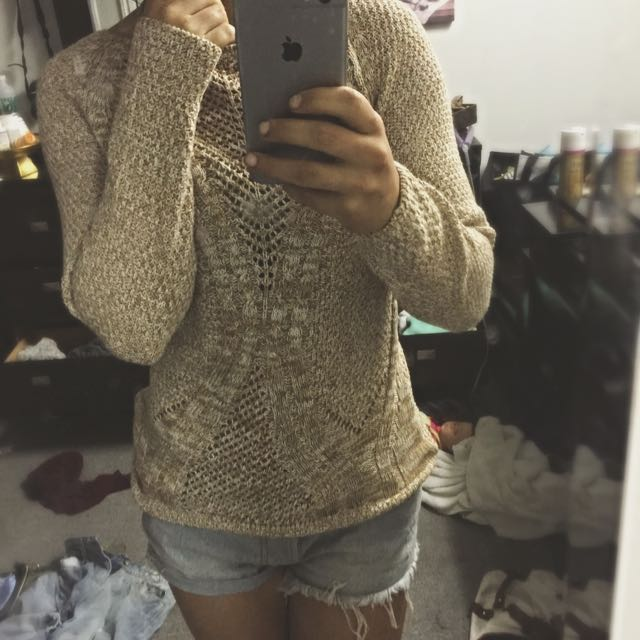 Cute Brown Sweater