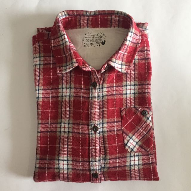EARTH MUSIC FLANNEL