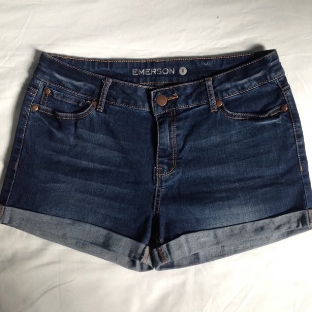 Emerson Denim Shorts Size 8