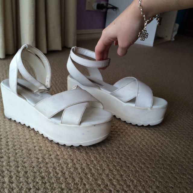 Flatform/platform Shoes