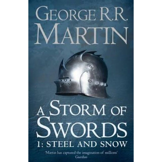 Game Of Thrones A Storm Of Swords Part 1