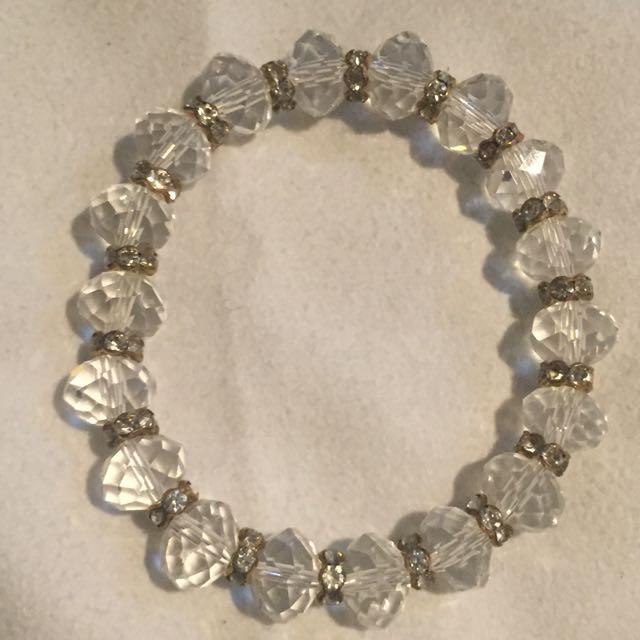 Glass/crystal Bracelet