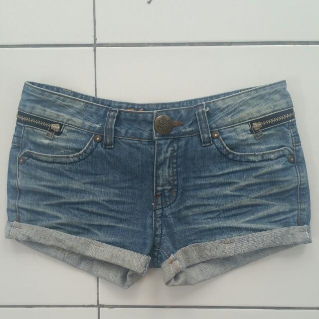Hotpants Zipper Jeans