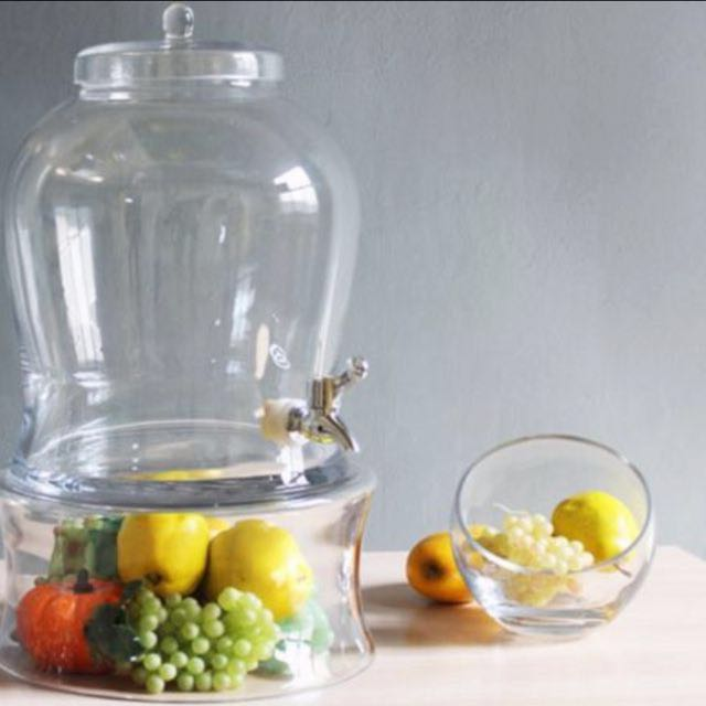 7.5 Litres Large Capacity Apothecary Cocktail Dispenser Jar