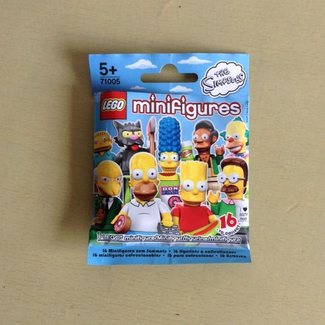 LEGO 71005 The Simpsons Minifigures Series (OPENED PACKET)