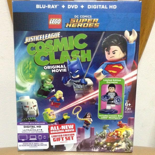LEGO DC Comics Super Heroes: Justice League: Cosmic Clash (Blu-ray + DVD + Digital HD UltraViolet Combo Pack)