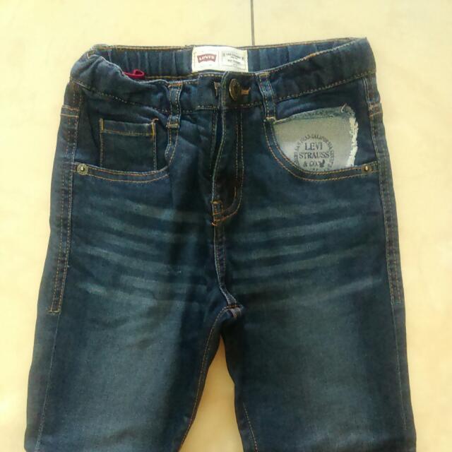 LEVI'S男童牛仔褲110cm