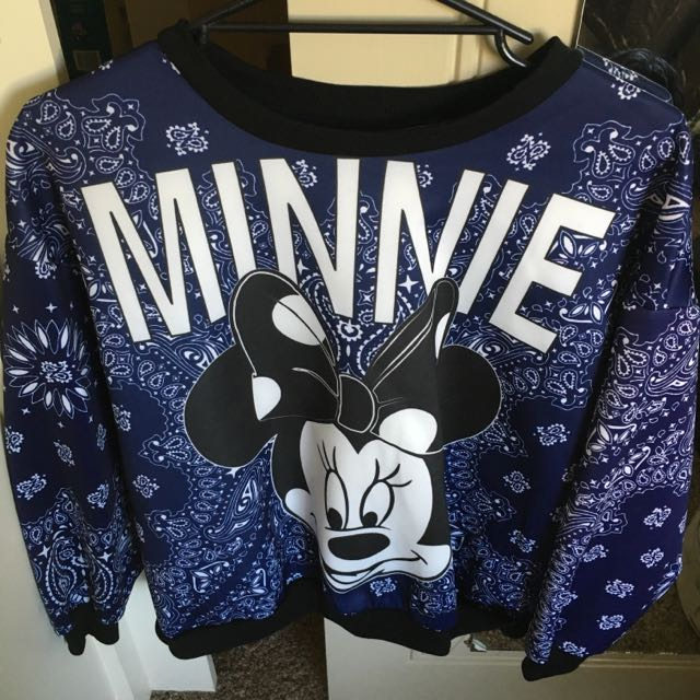 Minnie Mouse Sweater Womens Fashion On Carousell