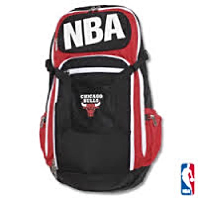 正品NBA 芝加哥公牛隊輕量後背包
