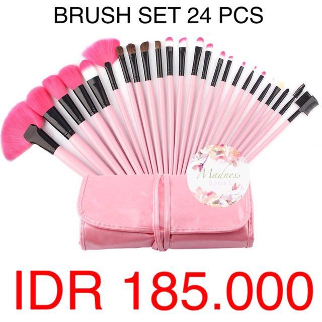 no brand brush 24 pcs