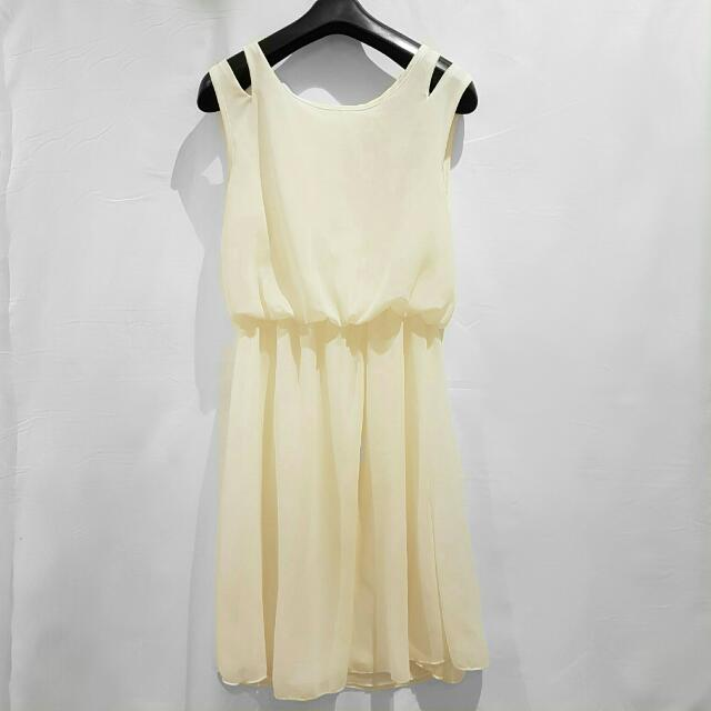 SALE - NEW Off White Work Dress