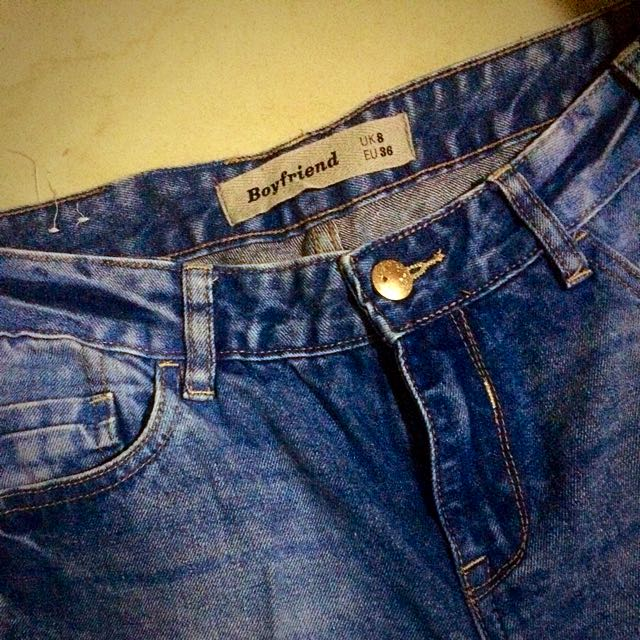 Preloved New Look Boyfriend Jeans.