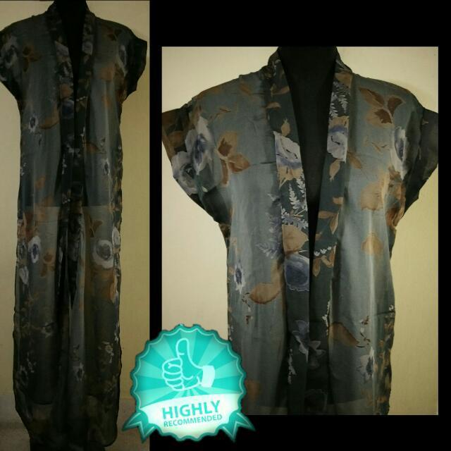Sheer Kimono Robe / Top