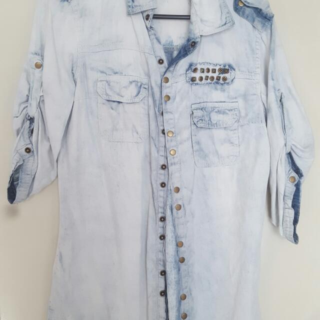Size Xs Denim Shirt