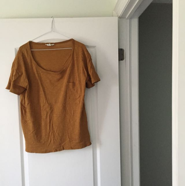 Slouchy Golden Yellow Top from Forever 21