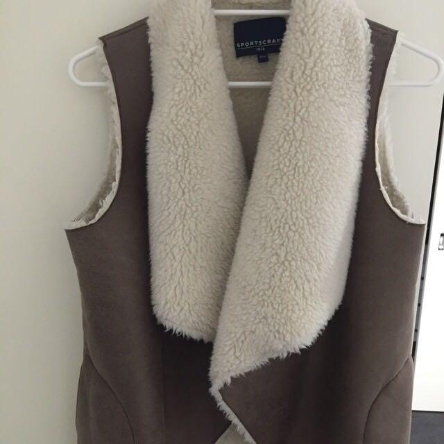 SPORTSCRAFT Fleece Vest in size XS/S