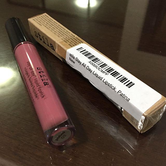 SOLD - Stila All Day Liquid Lipstick Patina