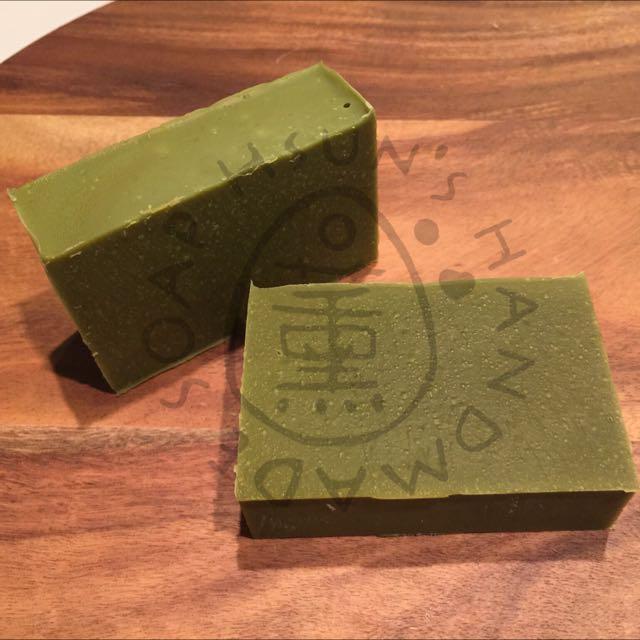 [Sweet Almond & Green tea Soap] 100% Naturally Handmade