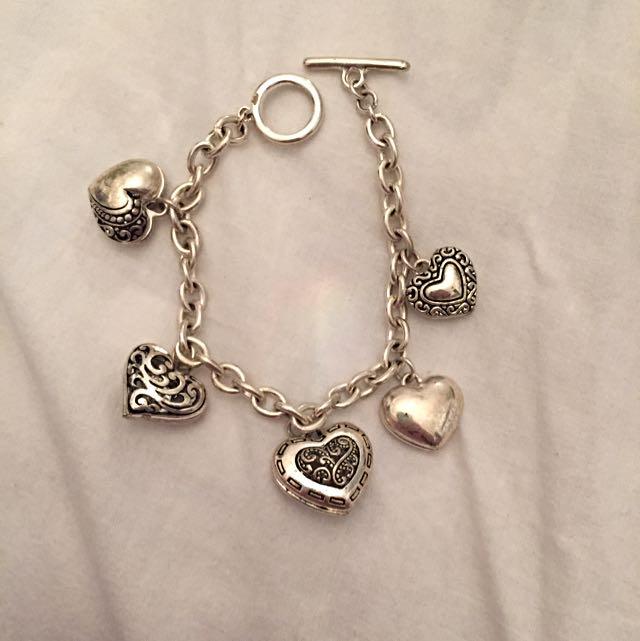 Tiffany Inspired Charm Bracelet