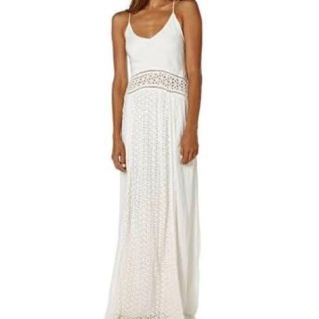 Tigerlily White Maxi Dress
