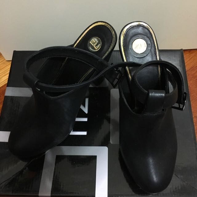 ZU shoes - Black Heel Ankle Boots