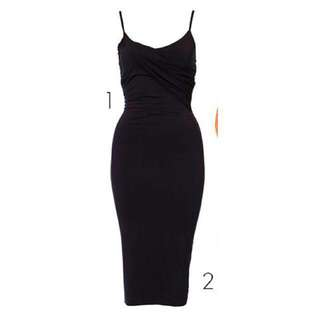 Kookai Dress Size 1 In Navy