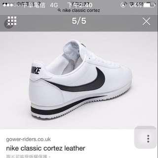 阿甘黑白大童鞋(落地僅一次)23號