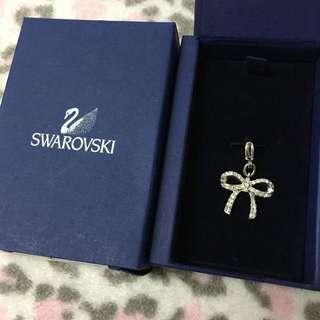 Swarovski Ribbon Charm