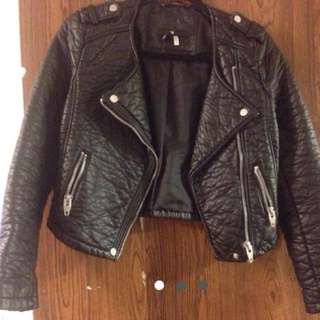 Leather Jacket (faux)