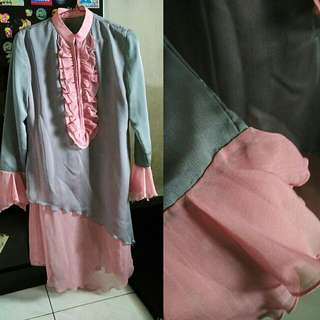Baju Muslim Layer Modern
