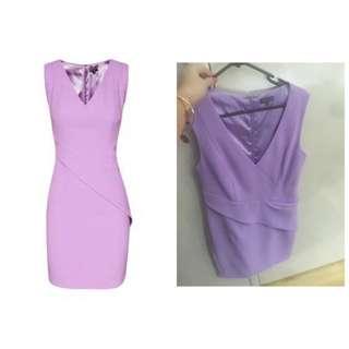 Sheike Serenade Dress lilac Size 12