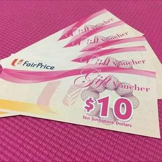 $400 Ntuc Fairprice Voucher
