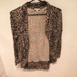 Leopard Print Cotton On Sweater