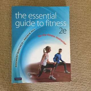 The Essential Guide To Fitness 2nd Edition Textbook For Personal Trainer Course