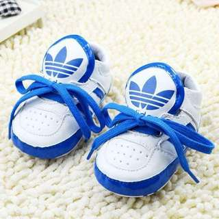 Adidas Lace Up Shoes ( Blue & White)